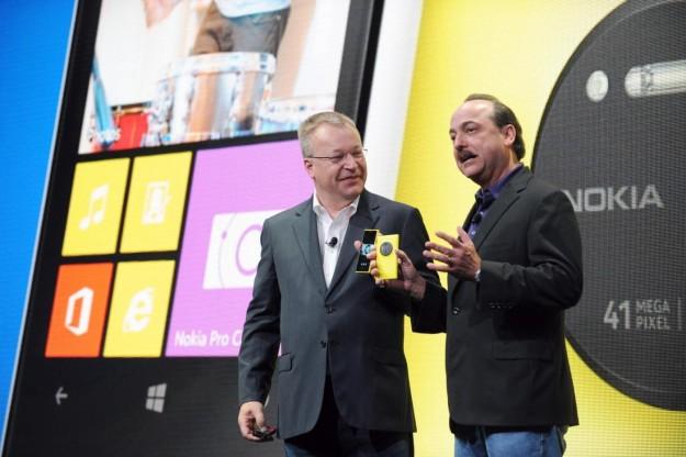 Evento di presentazione del Nokia Lumia 1020