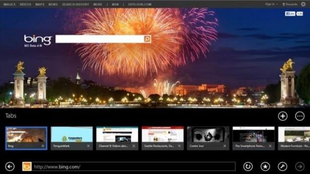 Internet Explorer 11: screenshots