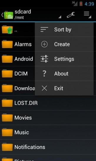 App per file rar