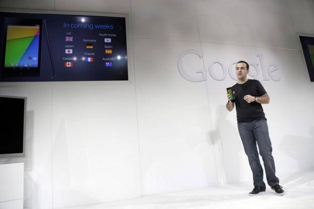 La presentazione di Android 4.3 Jelly Bean