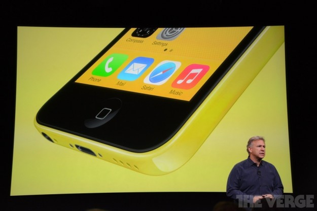 iPhone 5C giallo