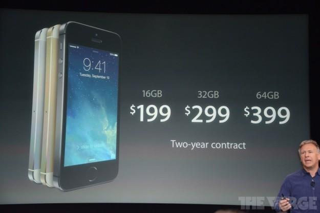 Prezzi di iPhone 5S