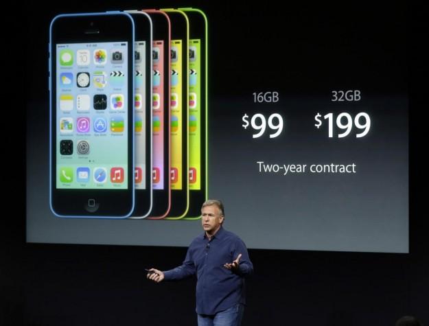Prezzi americani di iPhone 5C