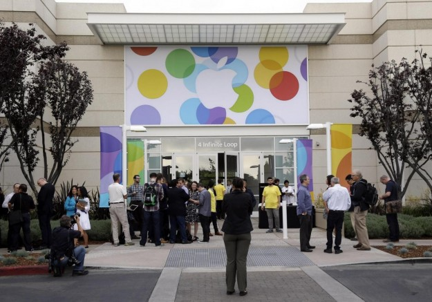 Il luogo dell'evento Apple