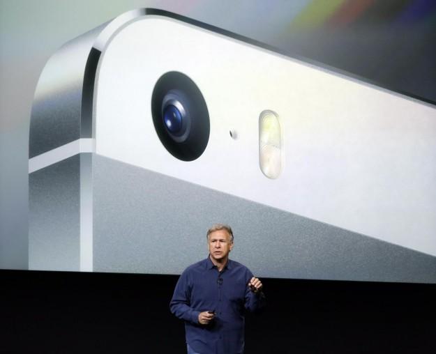 Particolare della fotocamera di iPhone 5S