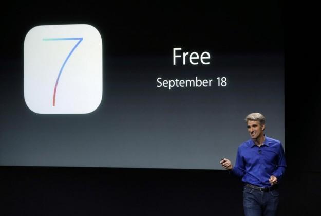 Uscita di iOS 7