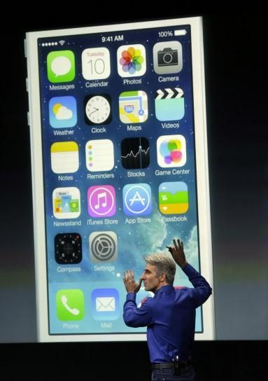 Il nuovo iOS 7