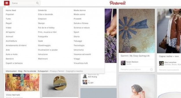 Pinterest in italiano