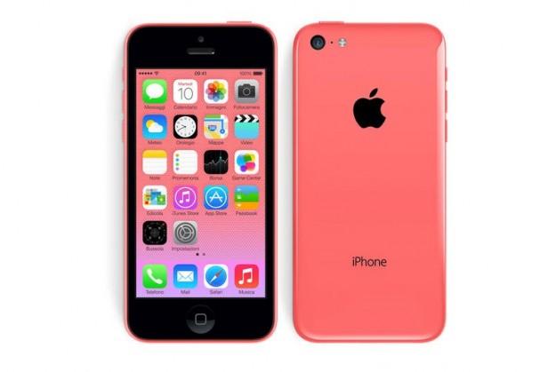 iPhone 5C rosso