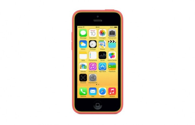 iPhone 5C arancione