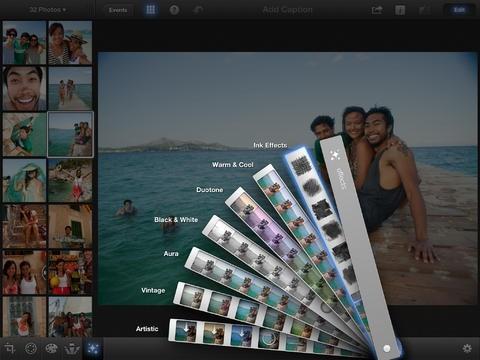 Effetti su iPhoto
