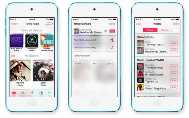 Musica su iPhone