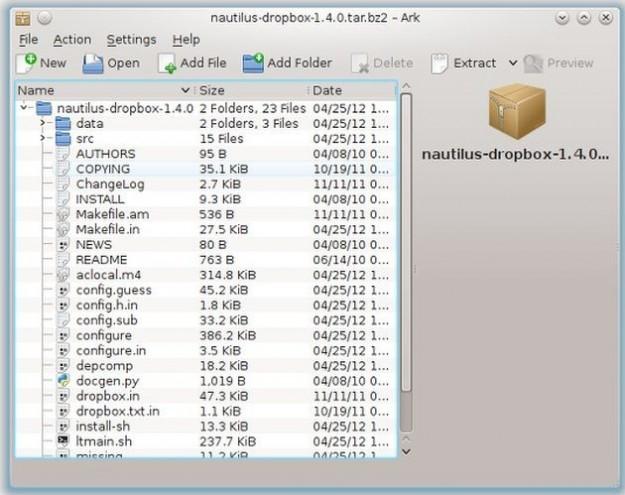 Ark su Linux
