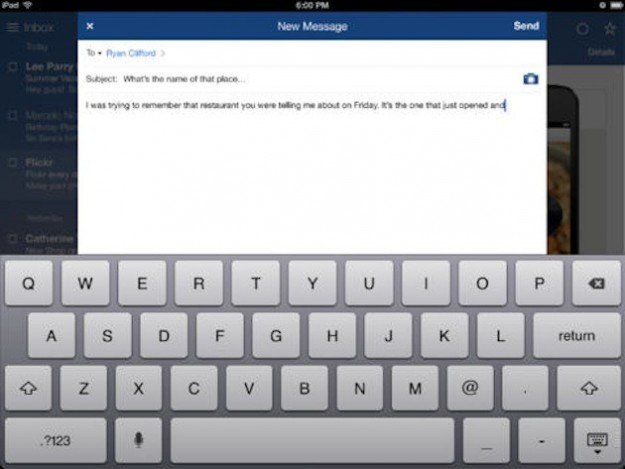 Nuovo messaggio su Yahoo Mail