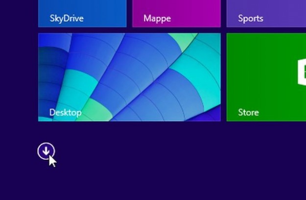 Freccia in Windows 8.1