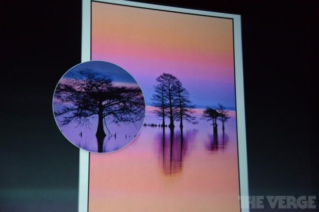 Grafica dei nuovi iPad