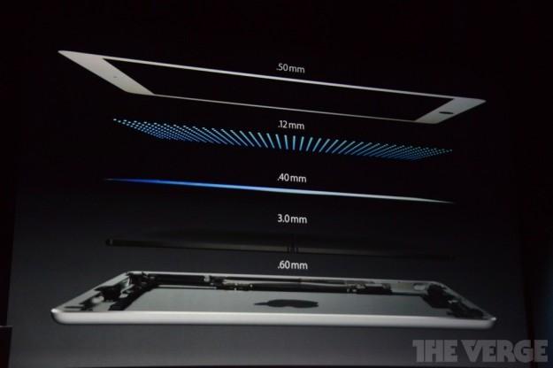 Sezione dei nuovi iPad