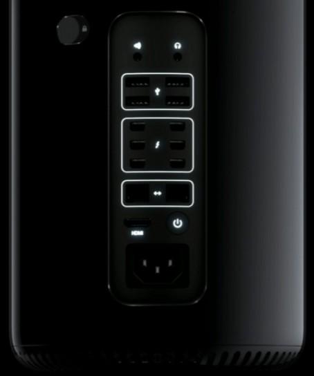 Pulsanti del Mac Pro