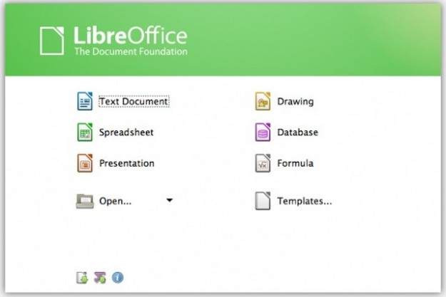 LibreOffice per Windows 8 e Mac