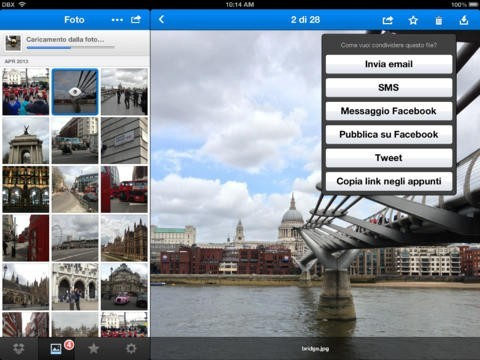 Come usare Dropbox su iPhone