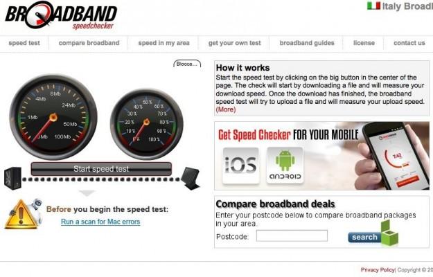 Broadband Speed Checker