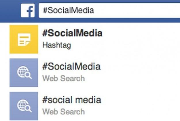 Ricerca di hashtag