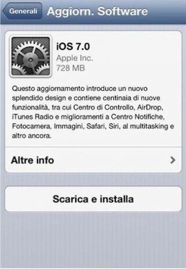 Versione di iOS