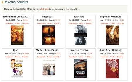 NowTorrents offre suggerimenti per i film