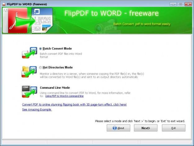 Flip PDF to Word Converter Free