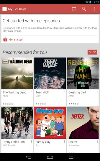 App Google Play Movies