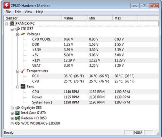 Programmi per monitorare la temperatura del PC