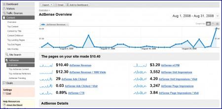 fusione di Analytics e AdSense