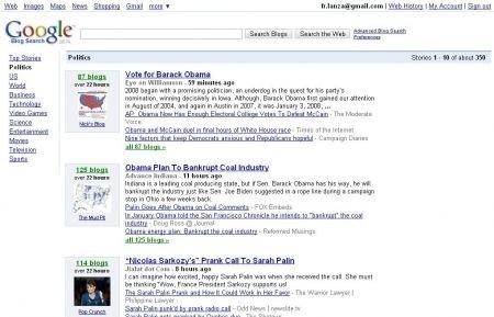 Elezioni 2008 e blogosfera