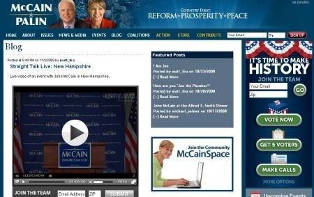 il blog di McCain