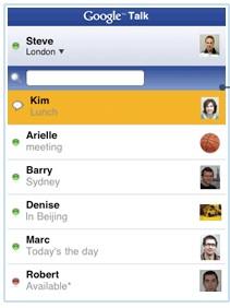applicazioni web iPhone