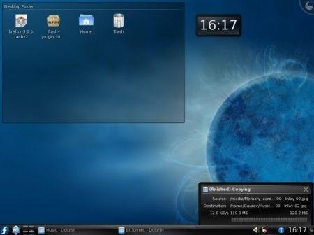 Fedora 11: desktop