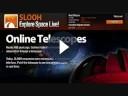 Esplorare lo spazio online con Slooh