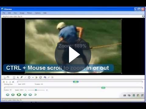 Modificare video: effetto a rallentatore con Kinovea