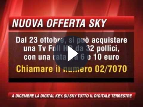 Sky: Mediaset ricorre conto la Digital Key