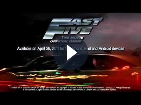Fast Five: Gameloft annuncia il gioco ufficiale per Apple iOS