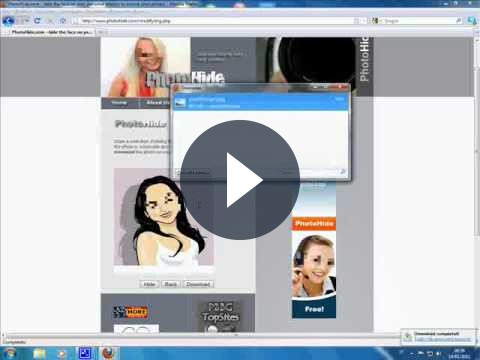 Il fotoritocco gratis online con PhotoHide per oscurare il volto