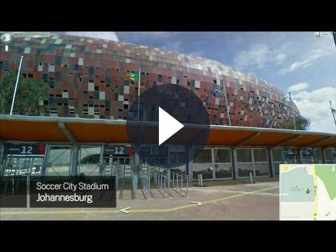 Mondiali 2010 in Sud Africa: gli stadi in Google Street View