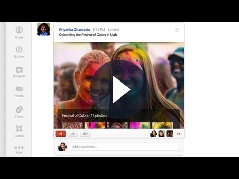 Google Plus, grafica rinnovata: tutte le novità [VIDEO]