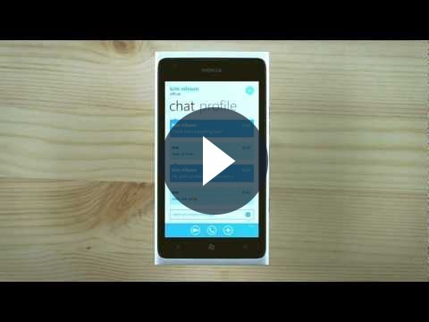 Skype su Windows Phone in versione 1.0 [VIDEO]