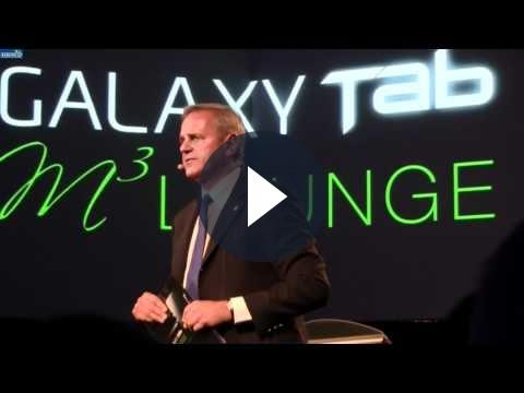 Samsung Galaxy Tab presentato in Italia