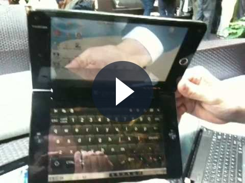 Toshiba Libretto W100: ibrido tra netbook e tablet PC