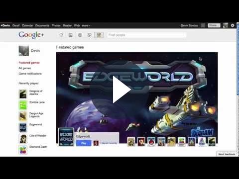 Su Google+ arrivano i giochi: un'altra mossa per contrastare Facebook?