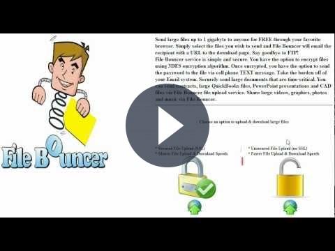 Come inviare file grandi gratis per e-mail con FileBouncer