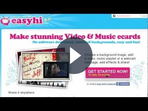 Video cartoline elettroniche per gli auguri di Natale: EasyHi