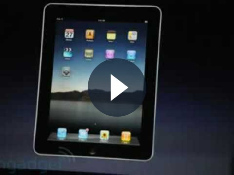 iPad Apple: Steve Jobs presenta il nuovo gioiello